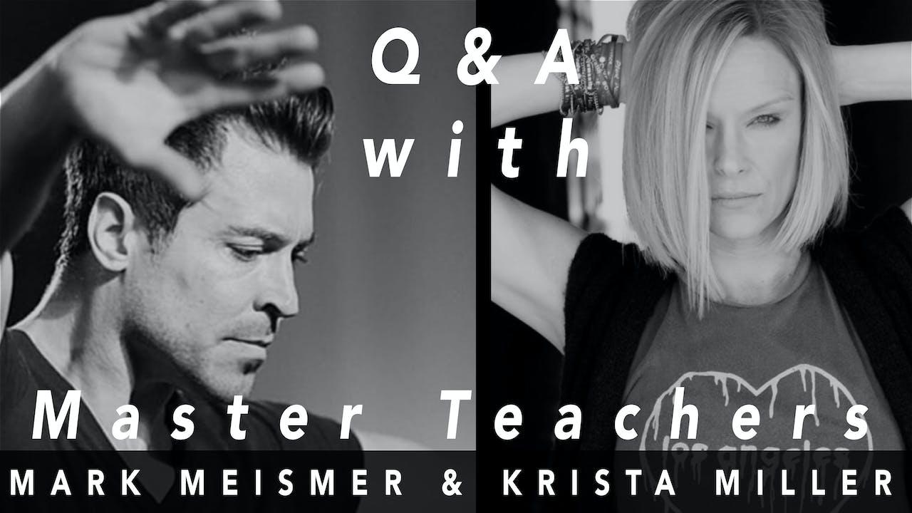 Legacy: Q&A Krista Miller & Mark Meismer