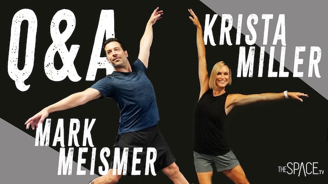 NEW! Q&A with Krista Miller & Mark Me...