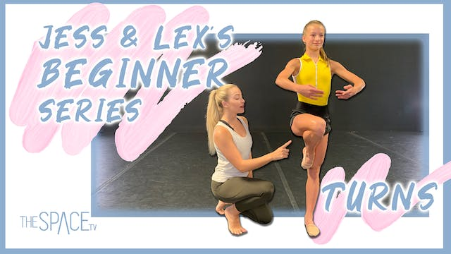 "Jess & Lex's Beginner Series: ""Turns"" Ep02"