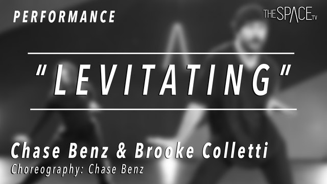 """PERFORMANCE: Chase & Brooke / Hip Hop """"Levitating"""" by Chase Benz"""