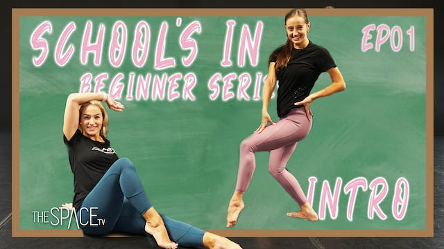"Schools In: ""Beginner Jazz"" / Jess & Lex - Ep01"