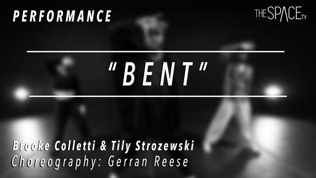 "PERFORMANCE: Brooke and Tiley / Hip Hop Fusion ""BENT"" by Gerran Reese"