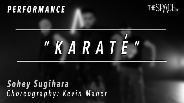 "PERFORMANCE: Sohey Sugihara / Hip Hop ""Karate"" by Kevin Maher"