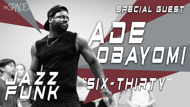 "NEW! Jazz Funk ""34+35 Remix"" / Ade Obayomi"