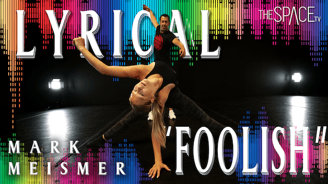 "Lyrical ""Foolish"" / Mark Meismer"