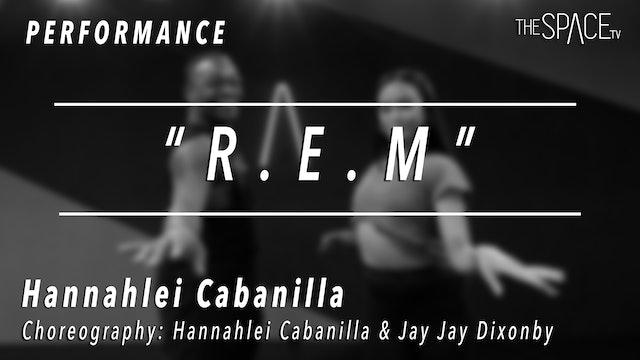 "PERFORMANCE: Hannahlei Cabanilla / Jazz ""R.E.M."" by Hannahlei & Jay Jay"