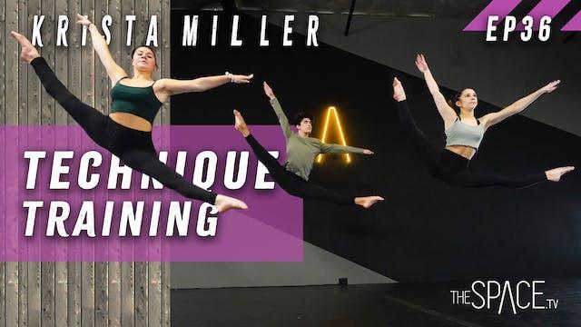"""Technique: """"Training"""" / Krista Miller..."""
