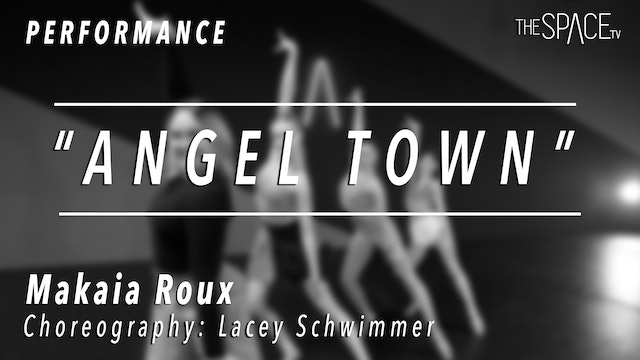 """PERFORMANCE: Makaia Roux / Ballroom """"Jive"""" by Lacey Schwimmer"""