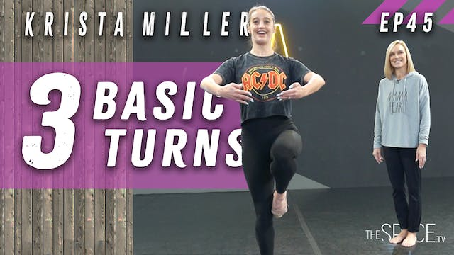 "Technique: ""3 Basic Turns"" / Krista M..."