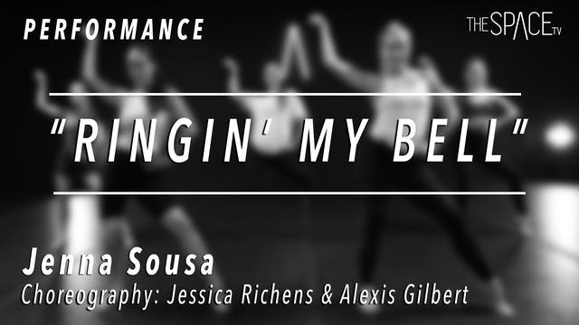 "PERFORMANCE: Jenna Sousa / Jazz ""Ring..."