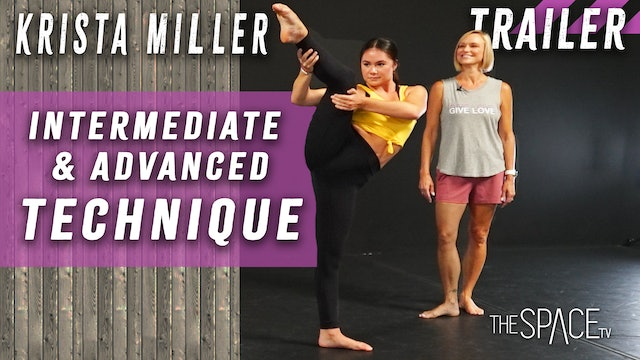 TRAILER - Technique Training / Krista Miller - Series