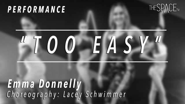 """PERFORMANCE: Emma Donnelly / Ballroom Rumba """"Too Easy"""" by Lacey Schwimmer"""