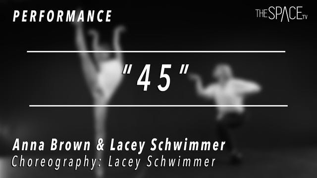 PERFORMANCE: Anna Brown and Lacey Sch...
