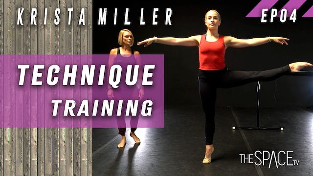 "Technique ""Training"" / Krista Miller ..."