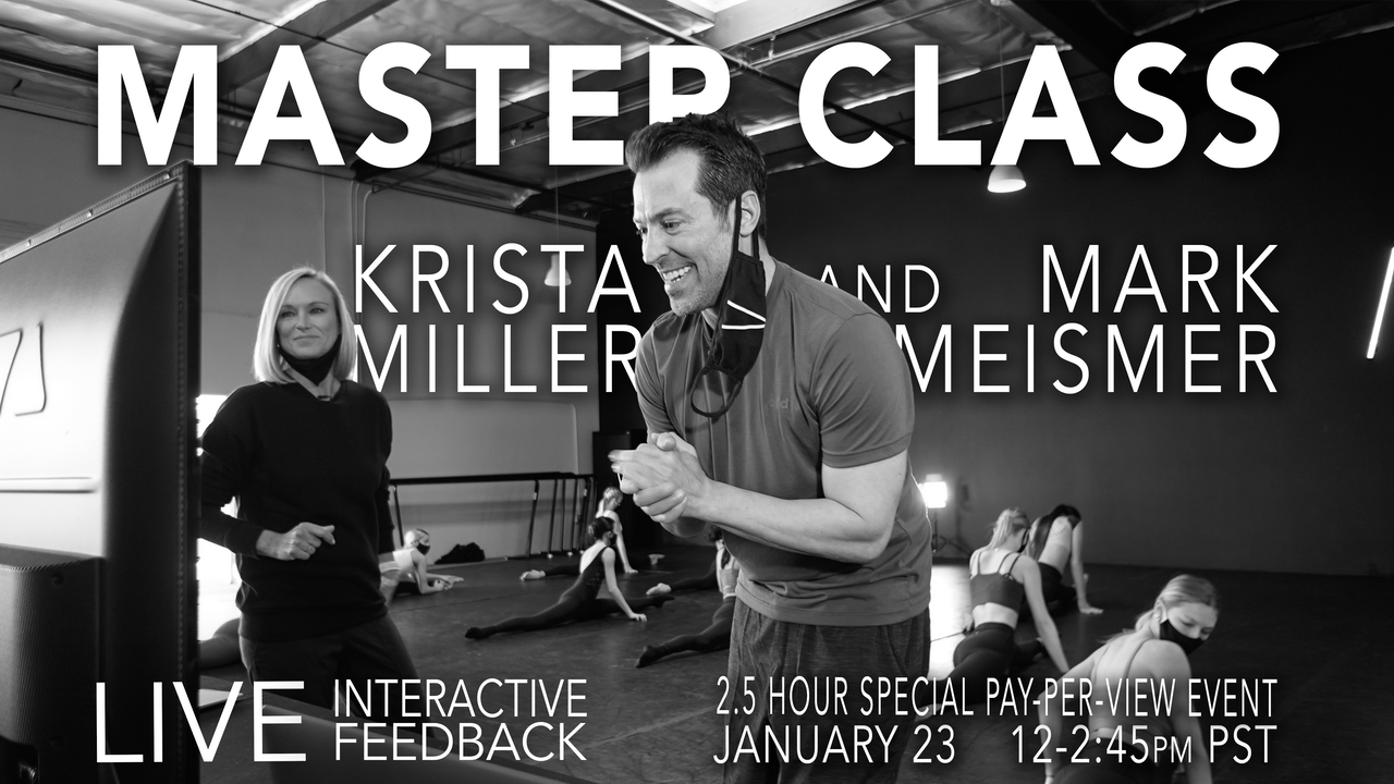 SOLD OUT!  LIVE INTERACTIVE Master Class: Jan 23