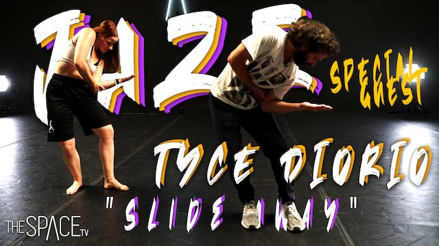 """Jazz """"Slide Away"""" / Special Guest Tyce Diorio"""