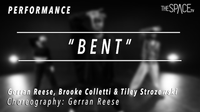 "PERFORMANCE: Gerran, Tiley and Brooke / Hip Hop Fusion ""BENT"" by Gerran Reese"
