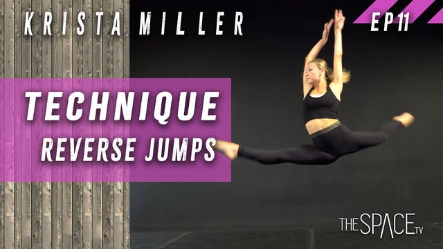 "Technique ""Reverse Jumps"" / Krista Mi..."