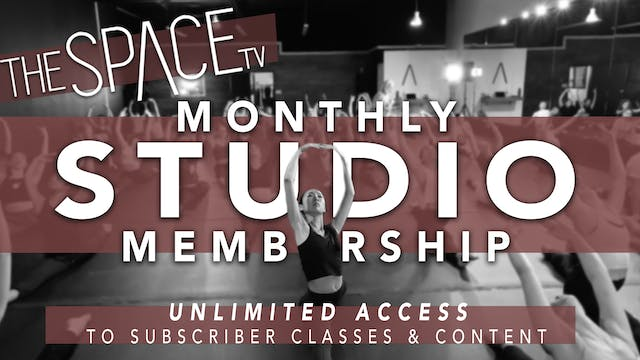 2nd Month Studio Membership License - Monthly