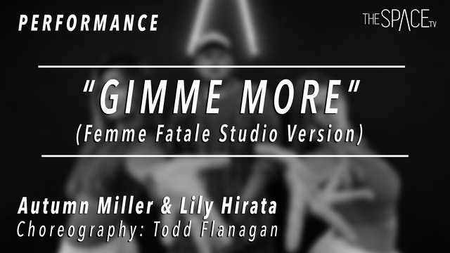 "PERFORMANCE: Lily and Autumn / TikTok Tuesday ""Gimme More"" by Todd Flanagan"