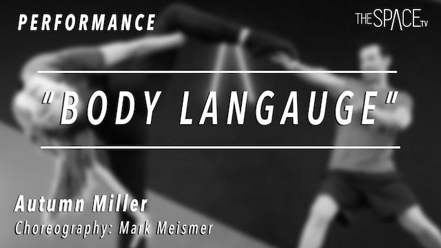 """PERFORMANCE: Autumn Miller / Jazz """"Body Language"""" by Mark Meismer"""