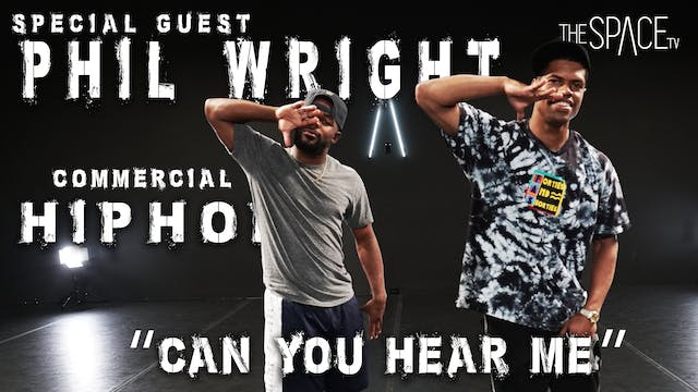 """NEW! Commercial Hip Hop """"Can You Hear Me"""" / Phil Wright"""