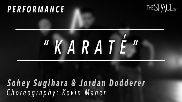 "PERFORMANCE: Sohey and Jordan / Hip Hop ""Karate"" by Kevin Maher"