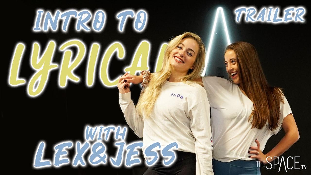 Intro to Lyrical with Jess & Lex