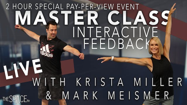 UPCOMING LIVE INTERACTIVE MASTER CLASS