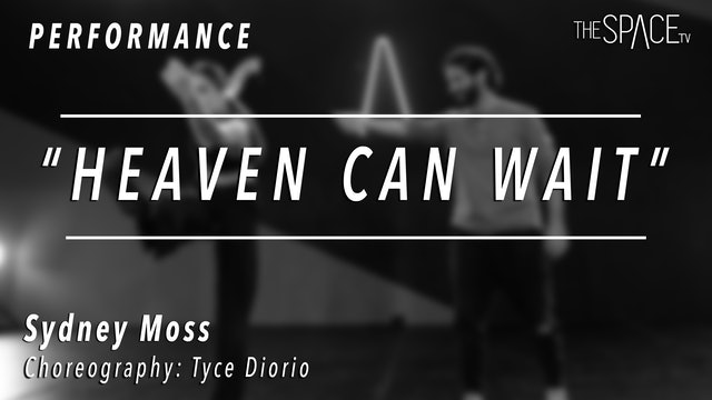 """PERFORMANCE: Sydney Moss / Jazz """"Heaven Can Wait"""" by Tyce Diorio"""