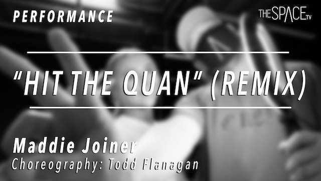 "PERFORMANCE: Maddie Joiner / TikTok Tuesday ""Hit the Quan Remix"" by ToddFlanagan"