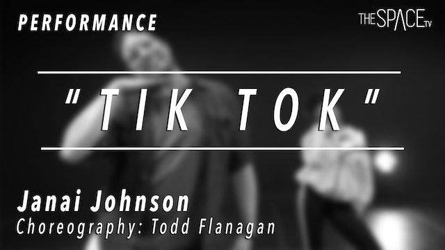 "PERFORMANCE: Janai Johnson / TikTok Tuesday ""Tik-Tok Remix"" by Todd Flanagan"