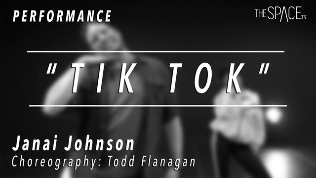 PERFORMANCE: Janai Johnson / TikTok T...