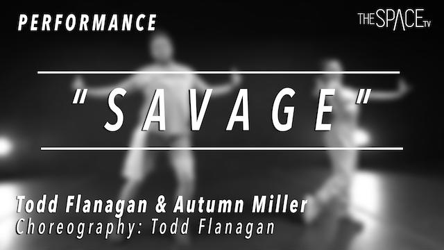 "PERFORMANCE: Todd Flanagan and Autumn Miller / TikTok Tuesday ""Savage"""