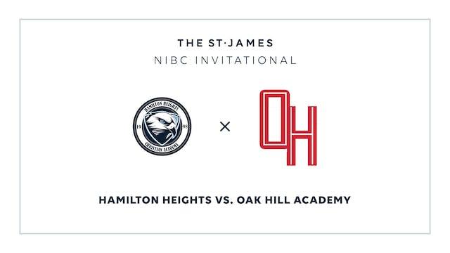 NIBC - Hamilton v. Oak Hill – 1/10 1:45pm ET