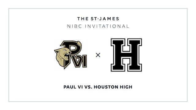 NIBC - Paul VI v. Houston – 1/16 2:15...
