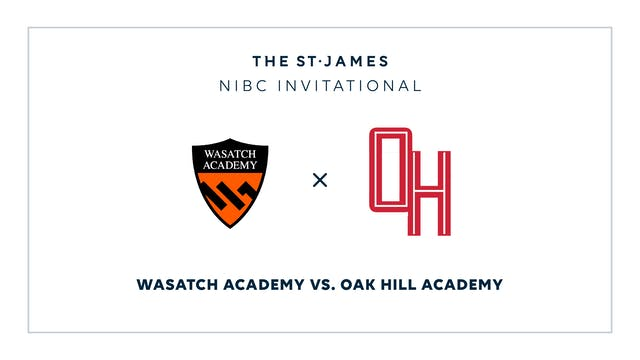 NIBC – Wasatch v. Oak HIll – 1/9 5:15pm ET