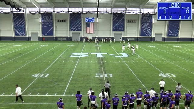4/10 - HS Football - Avalon vs. Gonzaga - Part 1