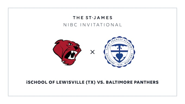 NIBC - iSchool v. Baltimore Panthers – 1/16 4:00pm ET