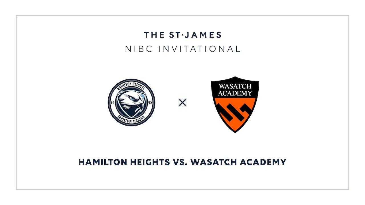 NIBC - Hamilton v. Wasatch – 1/16 12:30pm ET