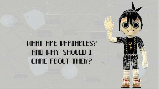 Intro04 What are variables?