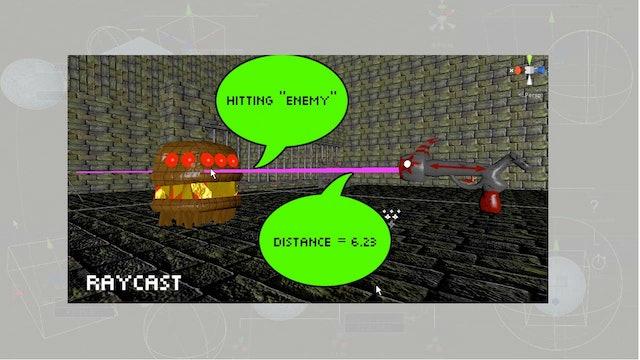 Intro18 Raycast: The magic laser!