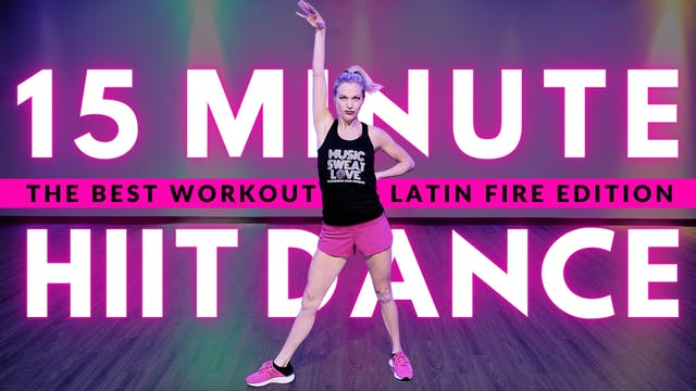 15 Minute Non-Stop Cardio: Latin FIRE 🔥 Edition
