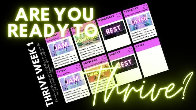 THRIVE: The Ultimate Studio Experience Calendar