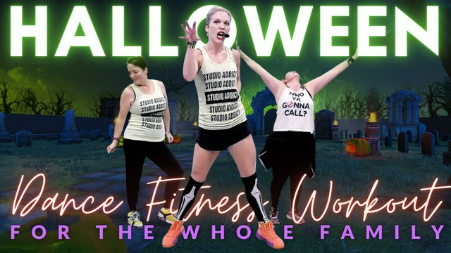 Halloween Workout For The Whole Family