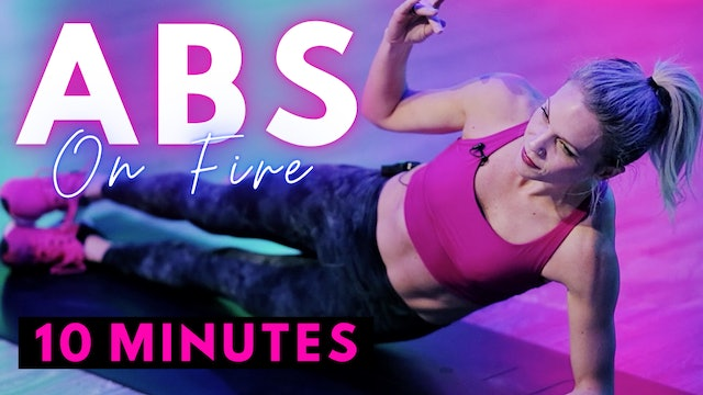 ABS on Fire - 10 minute workout