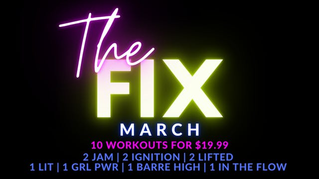 The FIX March Package