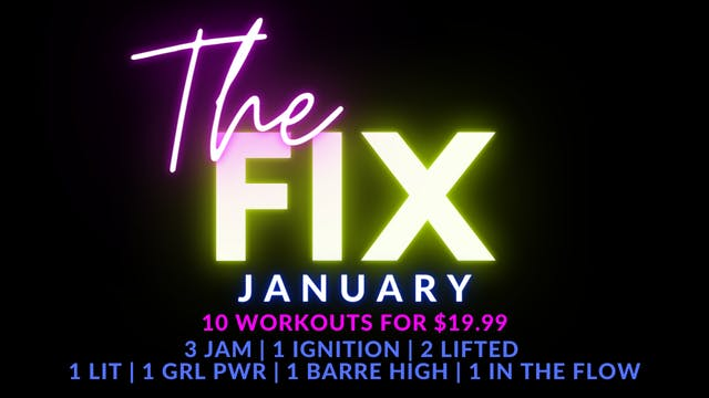The FIX January Package