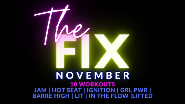 The FIX November Package