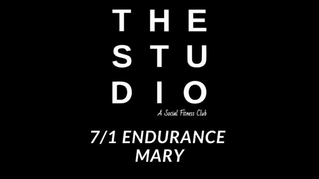 7/1 Endurance - Mary